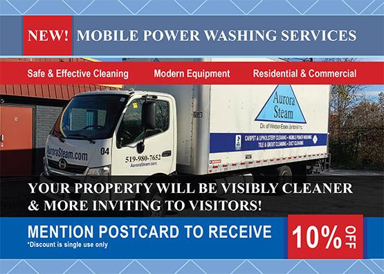Mobile Power Washing Coupon